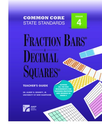 Common Core Standards for Fractions Grade 4